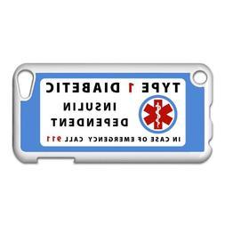 TYPE 1 DIABETIC Insulin Dependent Medical Alert Apple iPod T