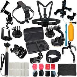 37-in-1 Sports Accessories Kit Bundle Attachments for Gopro