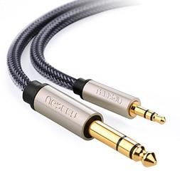 "UGREEN 6.35mm 1/4"" Male to 3.5mm 1/8"" Male TRS Stereo Audio"