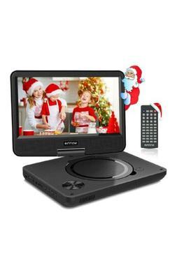 "10"" Portable DVD HD Tv Player Kids Travel w/ Headphones Remo"