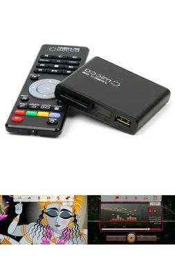 1080p FullHD Digital Media Player USB HDTV TV Home Portable