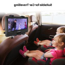 """COOAU 11.5"""" Portable DVD Player 270° Swivel Screen,with Car"""