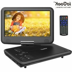 "ieGeeK 11.5"" Portable DVD Player Swivel Screen w/Gamepad CD"