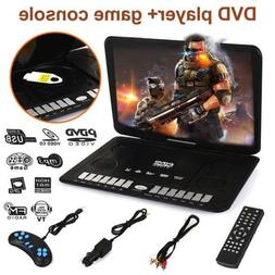"13.9"" Portable DVD Player HD CD TV Player 16:9 LCD Widescree"
