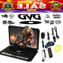 "13.9"" Portable HD Car DVD VCD CD Player Game FM TV Function"