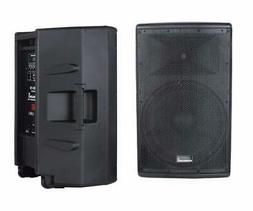 15 Inch 4000W PA Powered Active DJ Speaker System Class D Hi
