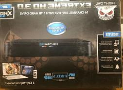 Night Owl 16-Channel Extreme HD 3.0 MP DVR Player with 1 TB