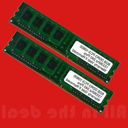 16GB 2x 8GB DDR3 1333MHz PC3-10600 DESKTOP Memory Non ECC 13