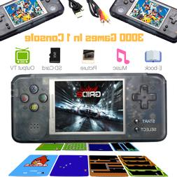16GB 3000 Games Built-In Portable Retro Handheld Video Game