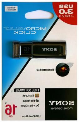 Sony 16GB 32GB 64GB 128GB MicroVault U-Series USB 3.1 Type A