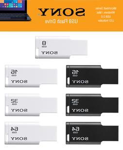 Sony 8GB / 16GB / 32GB / 64GB USB 2.0 Flash Drive MicroVault