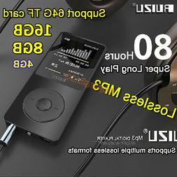16GB 8G 4G RUIZU X02 Sport Mini Lossless HIFI MP3 Music Play