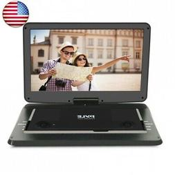 Pyle 17.9? Portable DVD Player, With 15.6 Inch Swivel Adjust