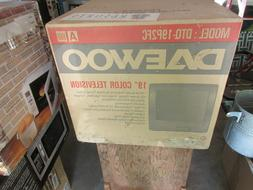 "Daewoo , 19"" Color Television , NIB , Model: DTQ-19P2FC"