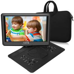 """19"""" Portable DVD Player 6 Hours Battery 16"""" Large Screen USB"""