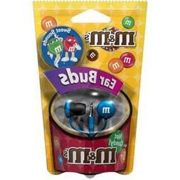 Maxell 190552 M&M'S Lightweight Earbuds, Blue