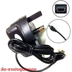 1M Mini Usb V3 Mains Wall Plug Charger For Satnav Speakers A