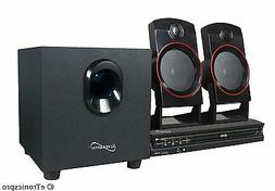 SUPERSONIC 2.1CH HOME THEATER SURROUND SOUND SYSTEMCD/DVD/