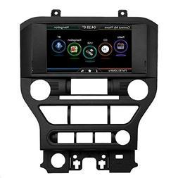 Qiilu 2 DIN 8'' 720P Upgrade HD Car DVD Player GPS Nav Multi