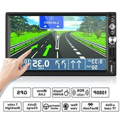 """2 Din Car Multimedia ,7"""" Wireless Touch Screen Car Stereo MP"""