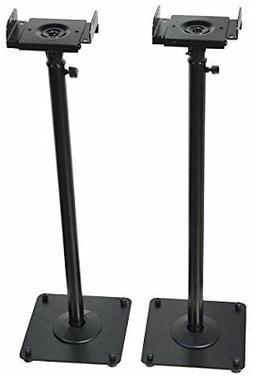 VideoSecu 2 Heavy duty PA DJ Club Adjustable Height Satellit