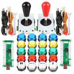 2 Player Arcade Games DIY Kit Parts 2 Ellipse Oval Joystick