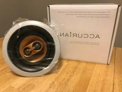 2 Speakers - ACCURIAN Brand In-Ceiling Stereo , 60W, Outdoor