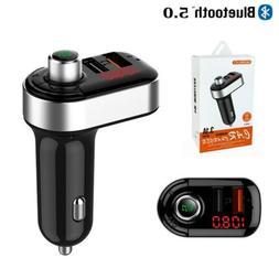 Bluetooth Car Kit MP3 Player FM Transmitter Wireless Radio A