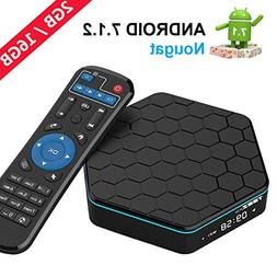 EASYTONE T95Z PLUS Android TV Box Android 7.1 HD Player Am