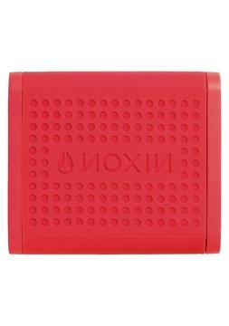 2018 NIB NIXON MINI BLASTER $100 Red multi-pair bluetooth sp