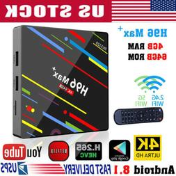 2019 H96 Pro MAX 4GB 64GB Android 8.1 TV Box K18.0 HD Smart