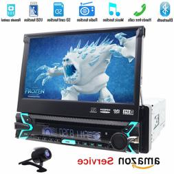 2019 New HD Flip Out Single 1 Din Car Head Unit Stereo Radio