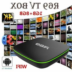 2019 R69 Smart TV Box Android 7.1 Quad Core 1+8G HD 2.4GHz W