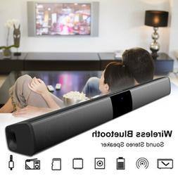 20W Wireless Bluetooth Speaker Bass TV Soundbar with subwoof