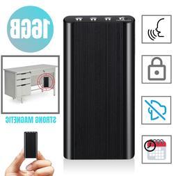 240 Hr Spy Digital Voice Activated Recorder Mini Audio Magne