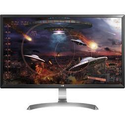 "LG 27"" 4K Ultra HD IPS LED Gaming Monitor with AMD FreeSync"