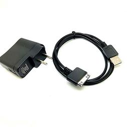2IN1 USB Data SYNC Cable & Wall Charger for SANDISK Sansa E2