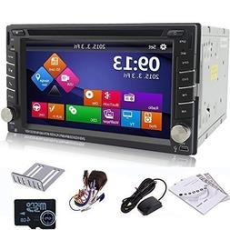 "Ouku 6.2"" 2Din LCD TFT in Dash Car DVD Player with DVD/CD/MP"
