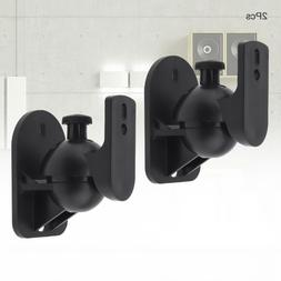 2pcs Practical Universal SW-03B 5KG Black ABS Plastics Wall