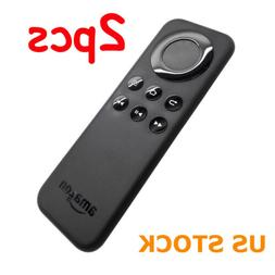 2X CV98LM Replacement Remote Control for Amazon Fire TV Stic