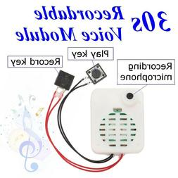 30s Button Sound Recordable Voice Sound Module Music Box For
