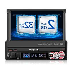 32GB + 2GB Single Din Android Car Stereo Radio with Bluetoot