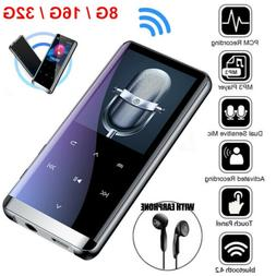 32gb bluetooth mp3 player mp4 media fm