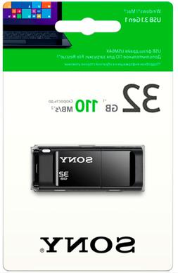 Sony 32GB USB 3.1 Flash Drive Type A 110MB/s - Microvault Bl
