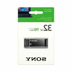 Sony 32GB USB 3.1 Gen 1 Flash Drive Type A 110MB/s   USM32X
