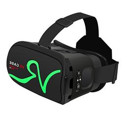 3D VR Headset Glasses, LESHP Virtual Reality Bluetooth Touch