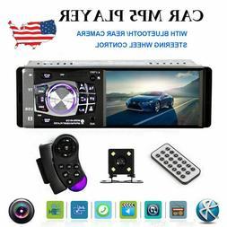 "4.1"" HD 1DIN Car Radio Stereo Video MP5 Player BT FM AUX USB"