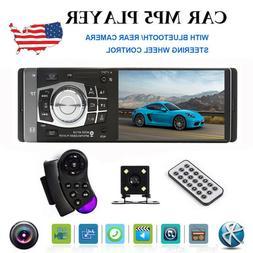 "4.1"" HD Single 1DIN Car Stereo Video MP5 Player BT FM Radio"