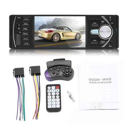 4.1 inch Car Stereo Radio MP3/5 Player Bluetooth 1 DIN SD US