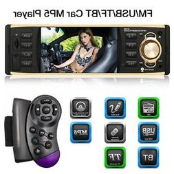 "4.1"" Single Din Car Stereo Radio In-dash Video MP5 Player US"